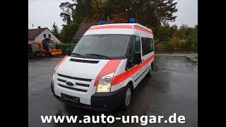 Youtube-Video Ford Transit KTW mit Stryker M1 & Dlouhy Light Rampe