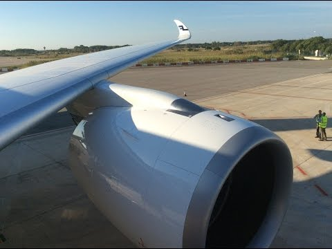 First Finnair A350 - Full flight AY3270 - Barcelona to Helsinki