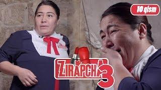 """ZIRAPCHA 3-MAVSUM, 10 QISM. """"MARHABONI O'ZIGA O'XSHAGAN AYOL URIB, SO'KDI""""😱"""