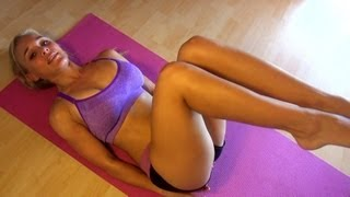 Girl's BEST Abdominal Exercises: Leg Raises