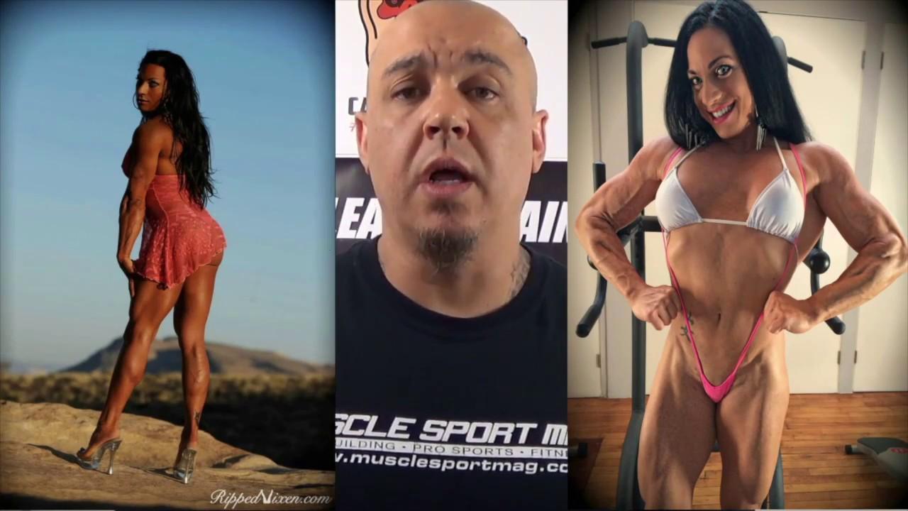 Lick female bodybuilders