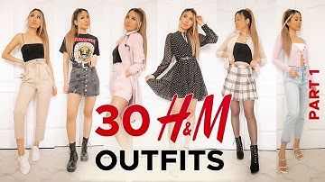 30 H&M outfits TRY-ON HAUL Part 1 | SPRING 2020 fashion lookbook
