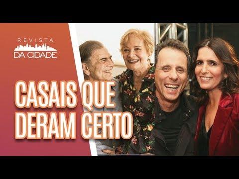 Casais Famosos Que DERAM CERTO  - Revista Da Cidade (12/06/18)