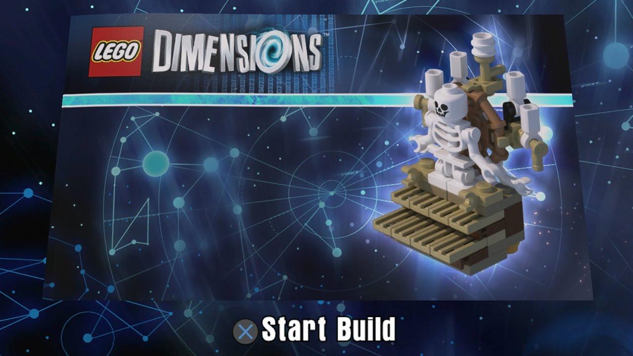 lego dimensions skeleton organ building instructions. Black Bedroom Furniture Sets. Home Design Ideas