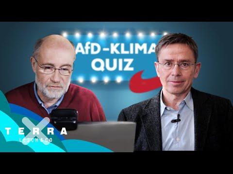 Das AfD-Klimaquiz für Schüler | Harald Lesch