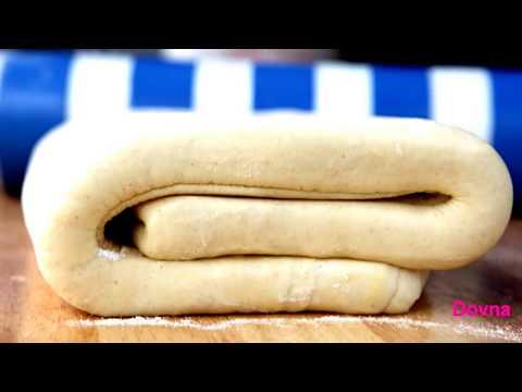 как приготовить слоеное тесто в домашних условиях фото рецепт