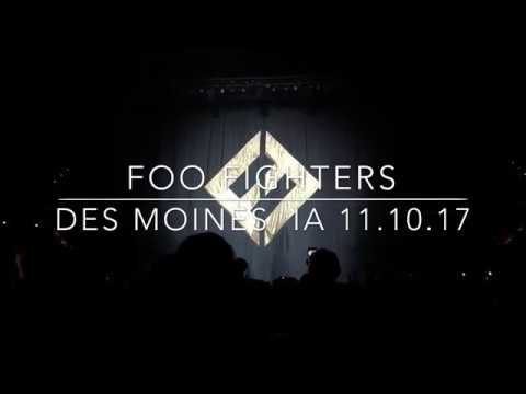 """Foo Fighters - """"Run"""" + """"All My Life"""" live from Des Moines, IA 11/10/17"""