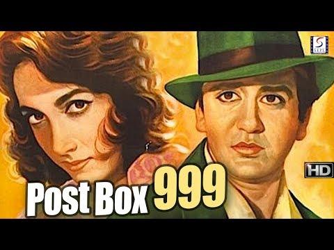 Post Box 999 - Sunil Dutt, Shakila - Thriller Movie B&W  - HD