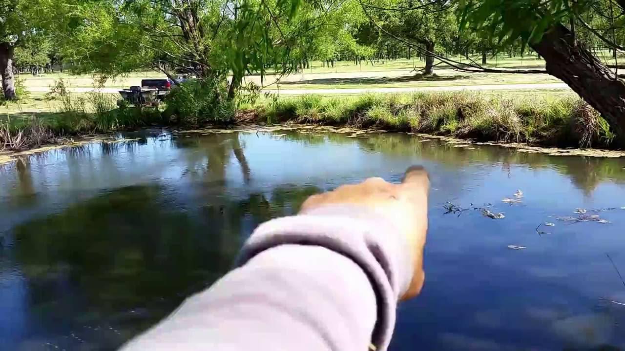 Shallow Pond Aeration System - YouTube