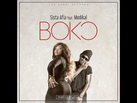 Sista Afia - Boko ft. Medikal (Audio Slide)