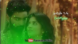 Mughaiyazhi Song Boomerang Tamil Whatsapp Status Saravana Creative Studio SCS