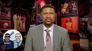 Jalen Rose on whether Pistons fans should be happy about Blake Griffin trade | Jalen & Jacoby | ESPN