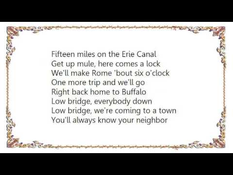 BRUCE SPRINGSTEEN - ERIE CANAL LYRICS