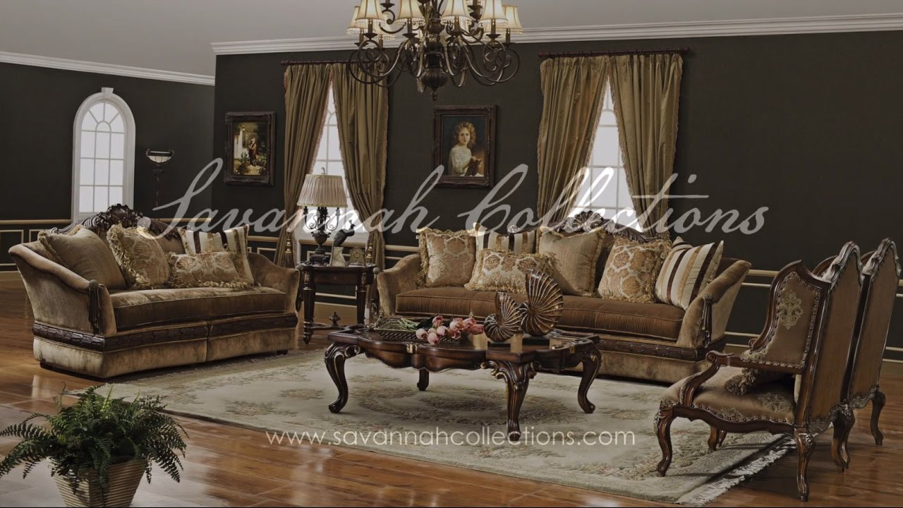 Victorian Living Room Collection By Savannah Collections   Baker Furniture