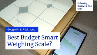 Best Budget Smart Weighing Scale With Google Fit - Hesley BMI Weighing Machine Unboxing & Review