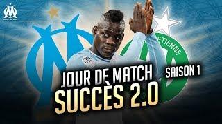 OM 2-0 Saint-Étienne l Les coulisses de la victoire