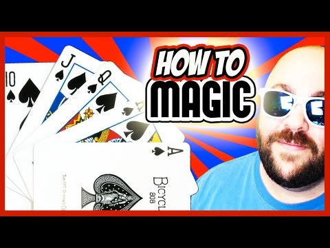 TOP 3 EASIEST CARD TRICKS - How To Magic!