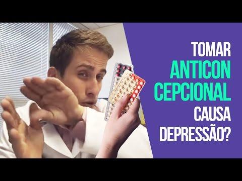 Pílulas Anticoncepcionais  Tomar Anticoncepcional Causa Depressão?