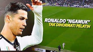 """Download lagu """"Mending Ke MU Aja"""" Inilah 5 Moment Saat Pelatih Berani Menggantikan Ronaldo dan Buatnya Marah"""