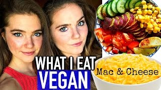 What I Eat In A Day + Mac & Cheese VEGAN RECIPE