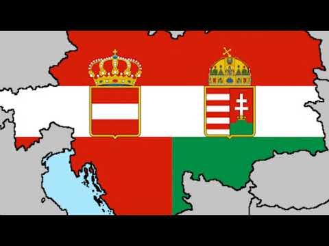 Образование и распад Австро-венгерской империи
