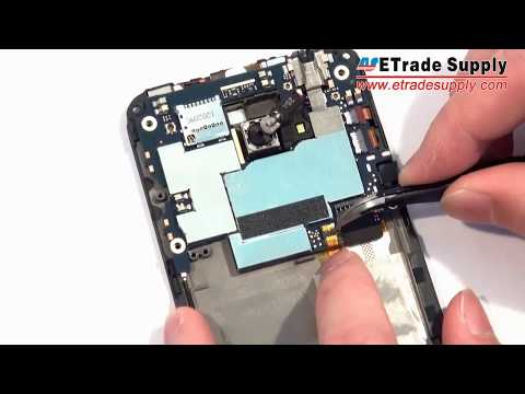 Teach you to repair HTC EVO 4G LTE/disassembly/Take Apart/Tear Down/Repair tutorials/Fix guide