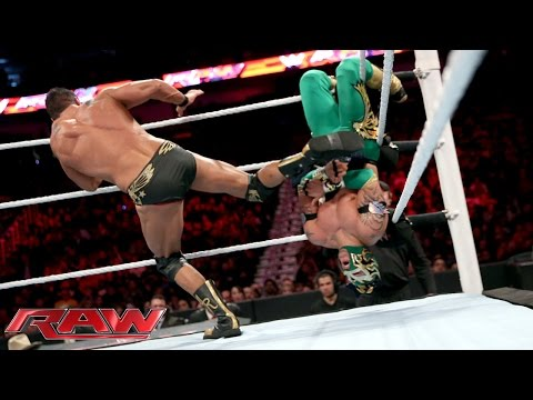 Kalisto vs. Alberto Del Rio - United States Championship Match: Raw, January 11, 2016