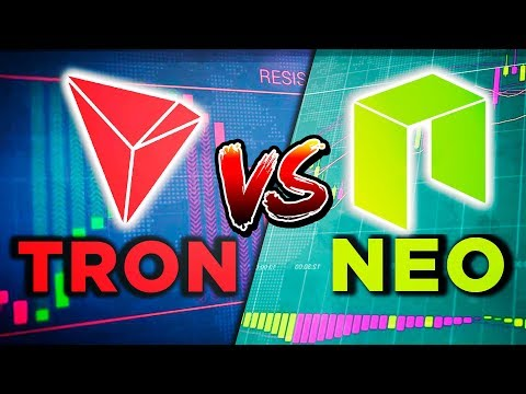 What will win? — TRON vs NEO? Cool marketing against technology. Outlook for 2019