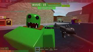 Fighting zombies in ROBLOX?!?