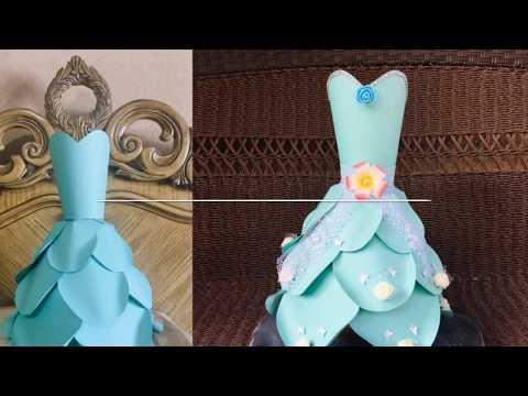 Decorating Paper Dress