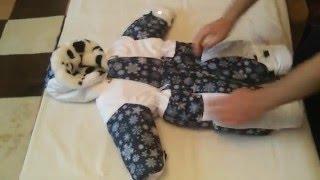 Зимний комбинезон для новорожденного до – 30 мороза. ТМ БебиБест.(Зимний комбинезон для новорожденного ребенка на суровую зиму до – 30 холода. • Сайт http://zai4ata.ru/detizim-zima/kombinez..., 2016-04-14T04:27:14.000Z)