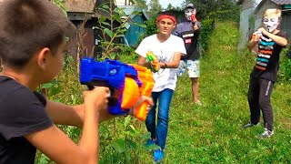 Нёрф Война Уничтожить Алекс Бро || Nerf War Destroy Alex Bro