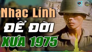 NHẠC LÍNH XƯA HUYỀN THOẠI HAY ĐỂ ĐỜI, LK Rumba Nhạc Lính Xưa 1975 Hay Để Đời Đi Vào Lòng Người