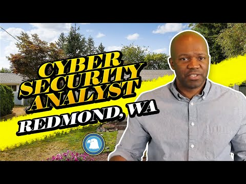 Cyber Security Analyst Redmond, WA