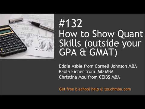 How to Show Quant Skills (outside your GPA and GMAT)