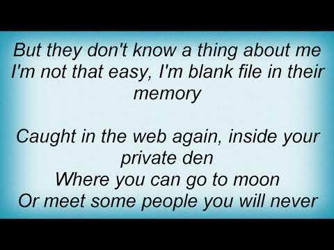 Sonata Arctica - Blank File Lyrics