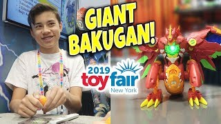 BAKUGAN BATTLE AT TOY FAIR!!! Maximus Dragonoid, Air Hogs, Novie, Giffeez,  Owleez,  Dragamonz!