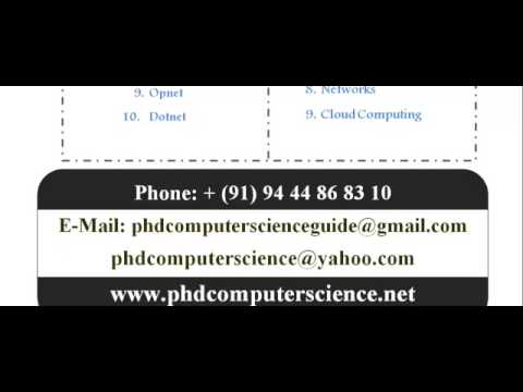 COMPUTER SCIENCE PHD IN FRANCE