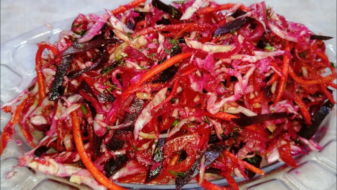 САЛАТ НА КАЖДЫЙ ДЕНЬ! Такой салат вы точно не видели. Салат без майонеза.