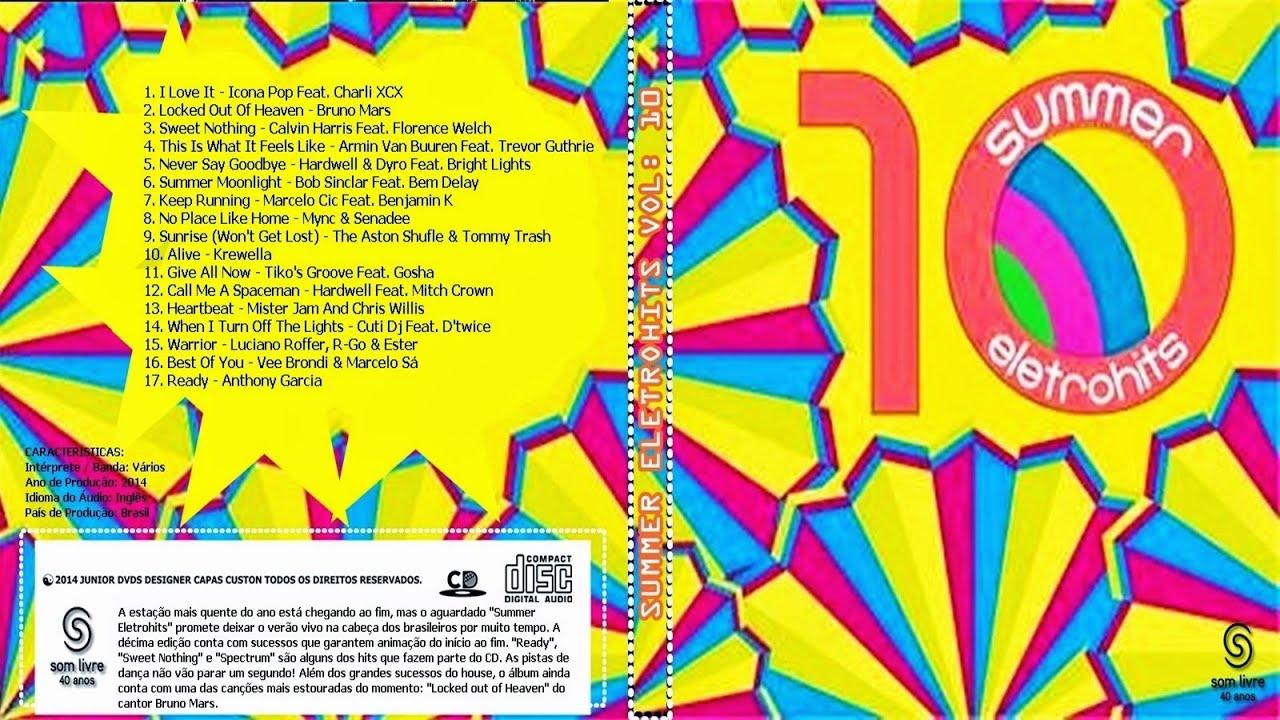 cd summer eletrohits 2013 para