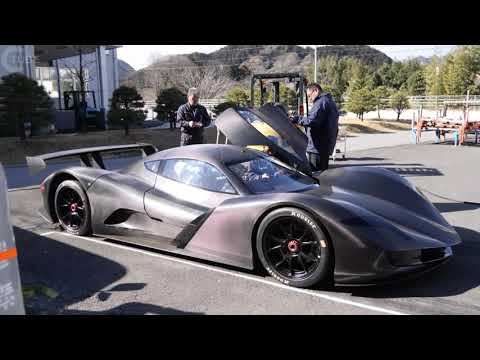 CRAZY FAST!!!!! Japanese ASPARK OWL ELECTRIC HYPERCAR DOES 0-60MPH IN 1.9 SECONDS