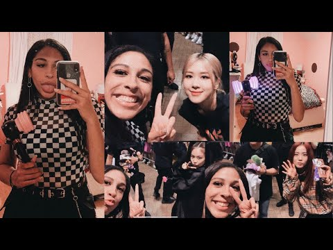 BLACKPINK IN YOUR AREA DALLAS TOUR VLOG