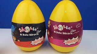 Eğlenceli Eğitici 2 Dev Sürpriz Yumurta Shoobie Mix Bi Dolu Sürpriz Oyuncaklı Paket Bidünya Oyuncak