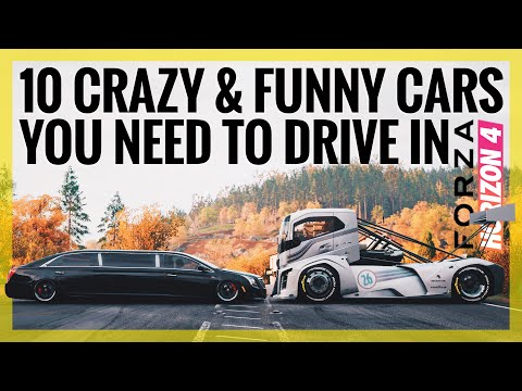Forza Horizon 4 | 10 Crazy & Funny Cars You Need To Drive / Own (Funny Moments)