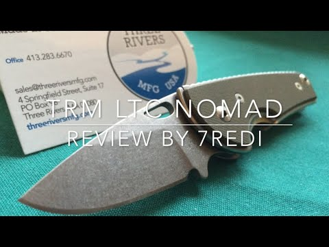 Three Rivers Mfg. LTC Nomad - The Everywhere Legal Folder!