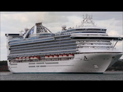 Princess Cruises fined $40M for dumping oily waste into sea