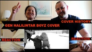 Gen Halilintar Boyz - Cover HISTORY - ONE DIRECTION (Official Cover Video) REACTION!!