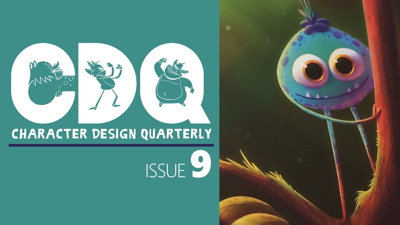 Cdq Character Design Quarterly Magazine Issue 9 By 3dtotal