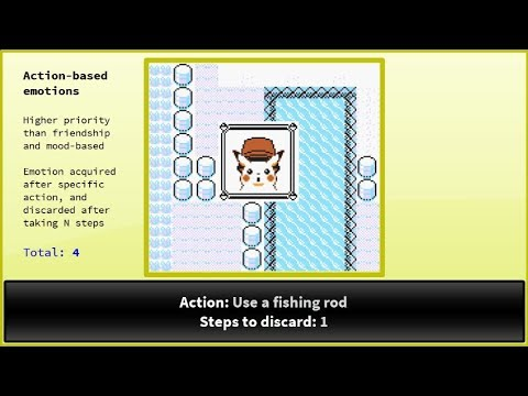 Pokemon Yellow - All Pikachu Emotions, And A Look At Pikachu's Friendship