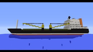 Minecraft SAR General Cargo ship